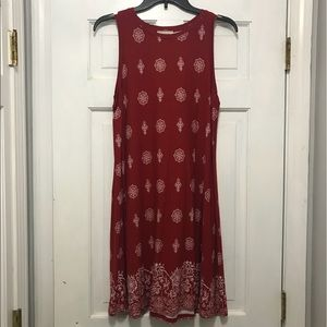 The Loft sleeveless dress